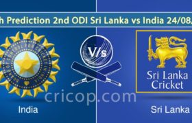 Match Prediction 2nd ODI Sri Lanka Vs India