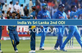 Live India vs Sri Lanka 2nd ODI