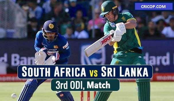 Srilanka Vs India 3rd Odi Today Match Prediction Cricop