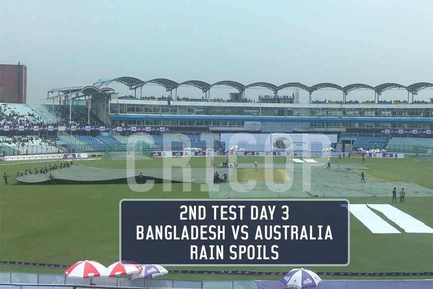 Watch 2nd Test Day 3 Cricket Match Highlight BAN vs AUS