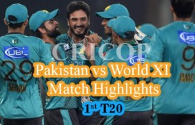 Today Match Highlights Pakistan vs World XI 1st T20 Sep 12, 2017
