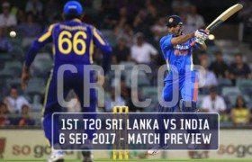 Today Match Prediction 1st T20 Sri Lanka Vs India 6 Sep 2017 1