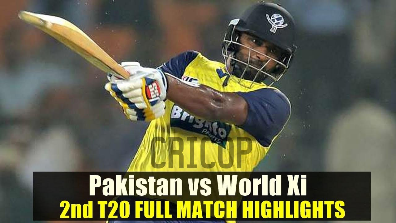 Match Highlights Pakistan vs World XI 2nd T20 Sep 13, 2017
