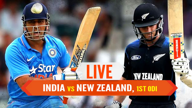 India Vs New Zealand 1st ODI Highlights Today 22 Oct 2017
