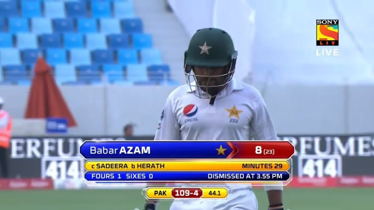 Pakistan vs Sri Lanka 2nd Test Day 3 Highlights Today 08 Oct 2017