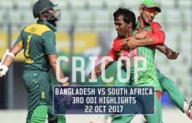 Bangladesh vs South Africa 3rd ODI Highlights