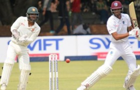 Zimbabwe Vs West Indies 1st Test Day 4 Highlights