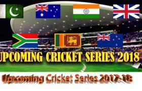 Upcoming Cricket Schedule 2018