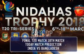 India vs Bangladesh in Sri Lanka T20 TriSeries Nidahas Trophy 2018 Match Prediction