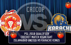 Karachi Kings VS Islamabad United Qualifier Cricket Match Highlights