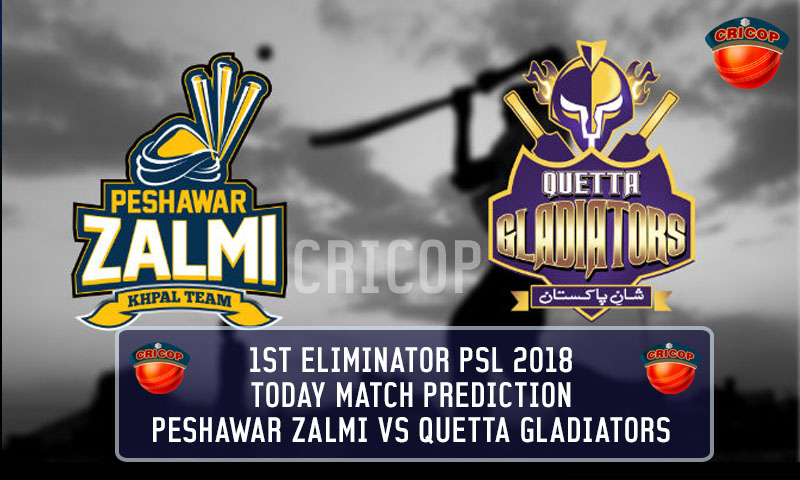 Peshawar Zalmi VS Quetta Gladiators Today Match Prediction