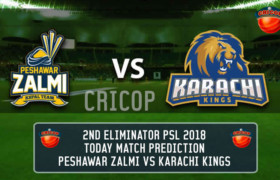 Peshawar Zalmi vs Karachi Kings Eliminator 2 Today Match Prediction