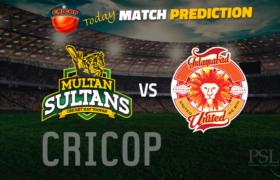 Islamabad United VS Multan Sultans Today Match Prediction