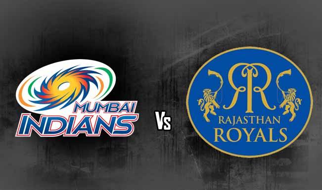 Mumbai Indians Vs Rajasthan Royals
