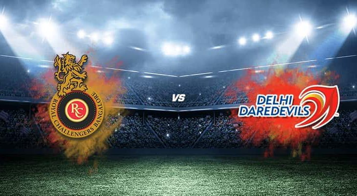 RCB vs DD 19th IPL 2018 Match Prediction 730x400