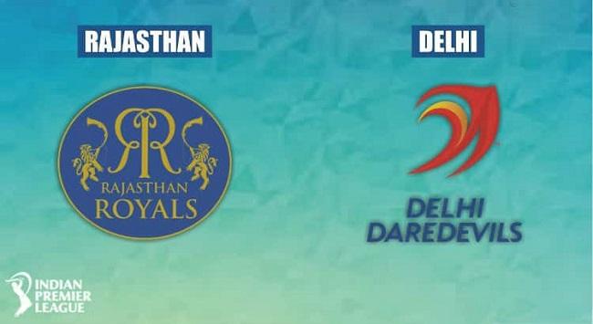 Rajasthan Royals vs Delhi Daredevils IPL 2018